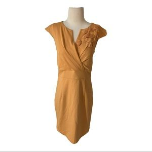 C. Luce mustard color dress size S/M. NWOT